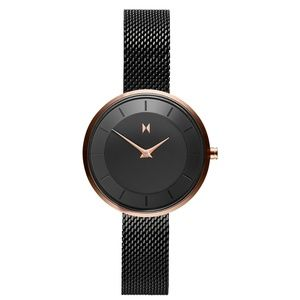 Back and Rose Gold MVMT RB3 Watch